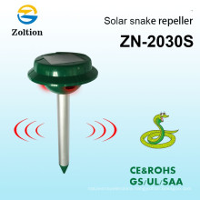 Zolition eco-friendly solar powered outdoor garden yard ultrasonic sonic mole vole snake rodent pest repeller ZN-2030S