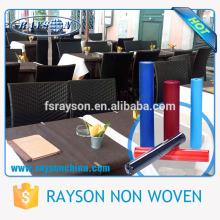PP Tecido Geotêxtil China Fábrica Feita Toalha De Mesa De Restaurante