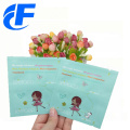 High quality mylar three side seal weed bag