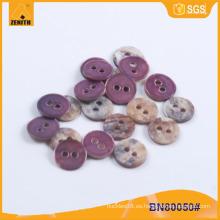Botón de Shell natural para prendas de vestir o bricolaje BN80050