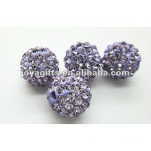10mm shamballa clay crystal ball,shamballa beads