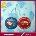 Black Ice Fragrance Hanging Paper Air Freshener for Car Home Office Use