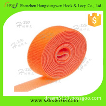 ORANGE Top Quality Hook and Loop velcro Tape