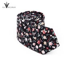 Cravate de marque célèbre 100% coton cravate pour les hommes