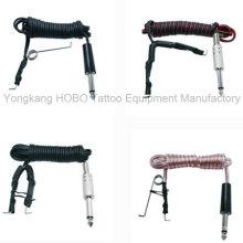 Barato Durable cordão Tattoo Clip para Tattoo Machine Silicone Soft Clip Cord