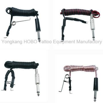 Corde durable durable pas cher d'agrafe de tatouage pour le cordon doux de silicone de machine de tatouage