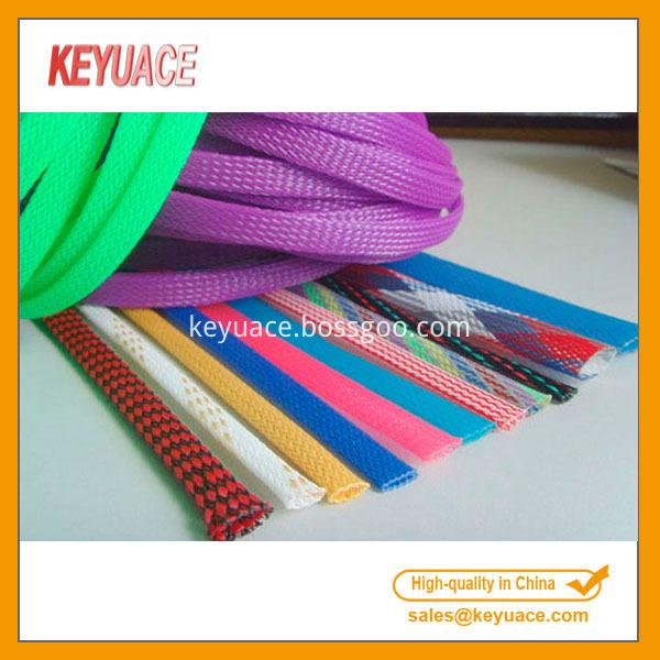 Plastic Braid Pet Expandable Sleeving