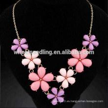 Collar de metal difusor temperamento flores