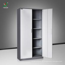 Armário de arquivo do armazenamento do escritório da mobília do metal do armário do escritório