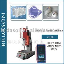 Máquina de solda ultra-sônica para saco de filtro