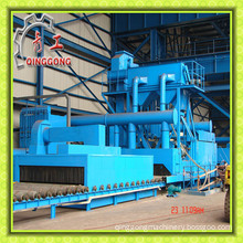 Surface Cleaning Roller Conveyor Machine Sandblast