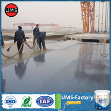 Polyurea coating applications bridge coating heat resistance