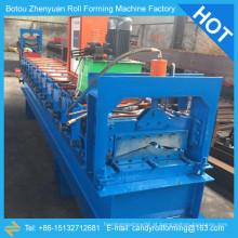 Máquina de moldagem automática de cume de cume, máquina de formação de rolo de tampa de cume de telhado de metal