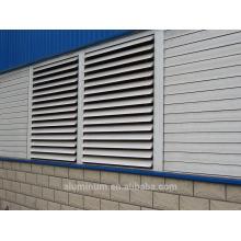 Aluminium louver shading profiles