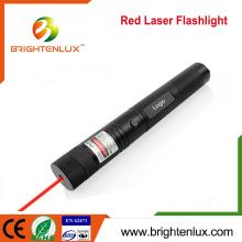 Multi-usages Aluminium 1 * 18650 batterie Alimenté Rechargeable haute puissance à pointeur laser rouge Torche à lampe torche