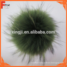 China Manufacturer Raccoon Fur Pom Pom