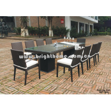 Mesa de comedor plegable de mesa (BP-355)