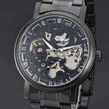 vintage diamond dial watch winner automatic tourbillon watch