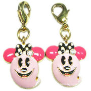 Mobile Phone Straps, Glass Paint And Gold Plated Finish, For Mobile Phone Accessories And