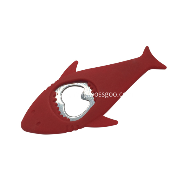 Stainless Steel Bottle Opener Fish Shape 2