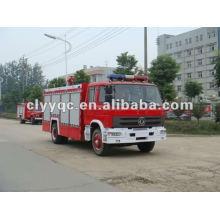 Dongfeng 153 foam fire fighting truck