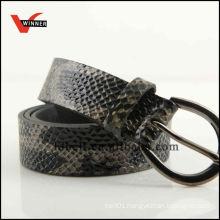 2014 Fake Snake Skin PU Women Belts