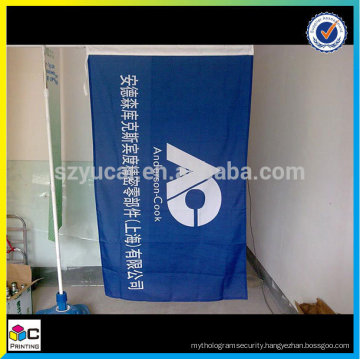 latest new model Factory supply popular custom polyester flag