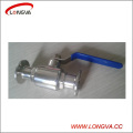 Wenzhou Stainless Steel 316 Sanitary Clamped Ball Valve