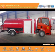 HOWO 4X2 multifunctional water tank fire truck