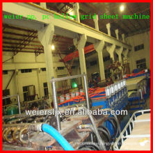 ce certificates PP PC hollow board extrusion machine