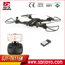 Hot Sale TK116W Selfie Foldable Drone With 720p Wifi Wide Angle Camera Drone