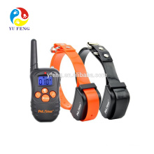 300M waterproof and rechargeable dog collars, Instead of static shock mode no bark dog training collar