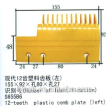 Escalator Plastic Comb Plate for Escalator Parts