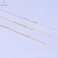 Nueva joyería simple de la cadena de plata del diseño 925 para los hombres