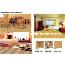 Máquina tejida Wilton PP Heat Set Muro a pared Hotel Carpets