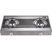 Glass Top Spin Fire Burner Gas Stove