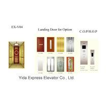 Titanium Gold Mirror Home Elevator avec prix compétitif