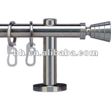 hot sell silver color Aluminum alloy flexible curtain rod
