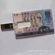 Specialty Advertising Credit Card USB Flash Drive