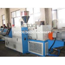 Máquina plástica del extrusor de la placa de mármol del PVC de la fabricación del plástico