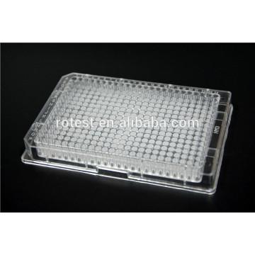 Placa de cultivo celular de 384 pocillos tratada con cultivo tisular