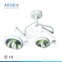 AG-LT017B Beleuchtung Shadowless Lampe Patient Therapie verwendet zwei Köpfe OP-Zimmer Tischleuchte