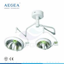 AG-LT017B Illumination shadowless ampoule thérapie du patient utilisé deux têtes salle de chirurgie lampe de table