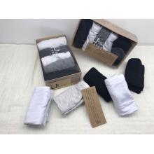 Factory wholesale 100% cotton men socks