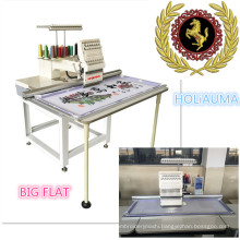 HOLiAUMA Desktop Big Flat Embroidery Single Head 15 Needles Computerized Embroidery Machine