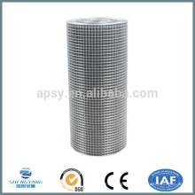 1х1 304 сваренная нержавеющей сталью ячеистая сеть