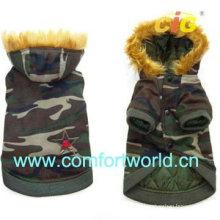 Confortable et agréable manteau de coton pour animaux de compagnie
