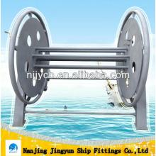 Ship steel rope reel