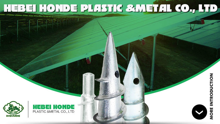 Plastic Ground Screw Pole
