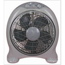 14 pouces électrique meilleur Design boîte de ventilateur avec minuterie boîte de ventilateur